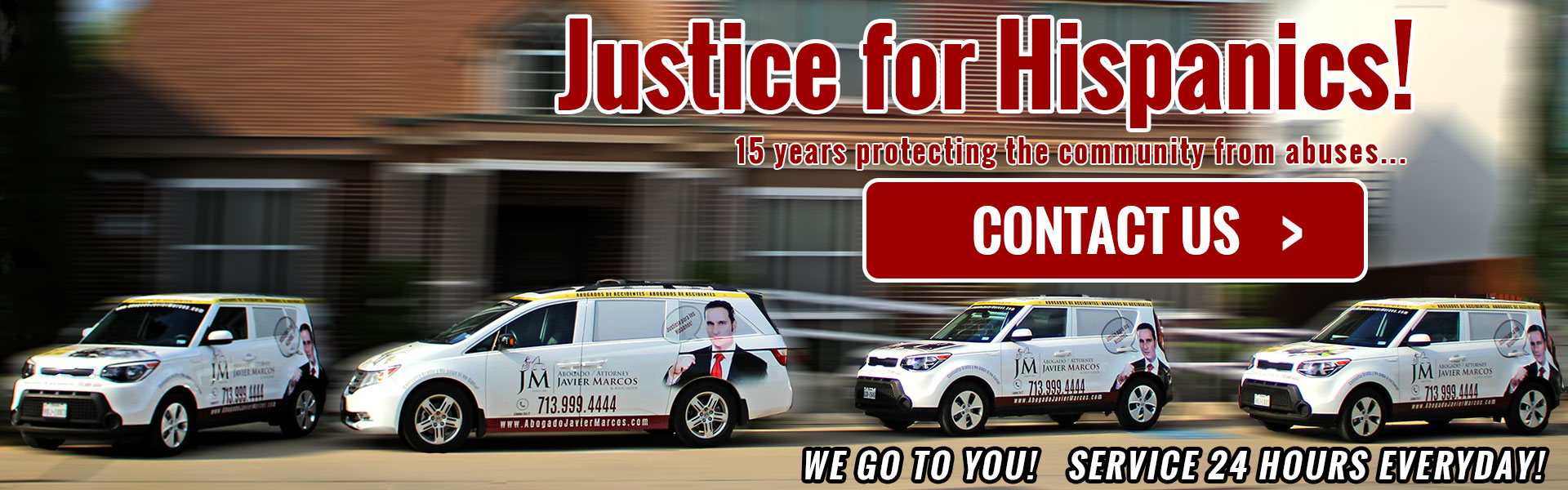 Attorney javier marcos accidents 713 999 4444