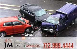 Car crash- Attorney Javier Marcos 713.999.4444