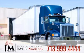 Accident with an 18-wheeler | Attorney Javier Marcos 713.999.4444