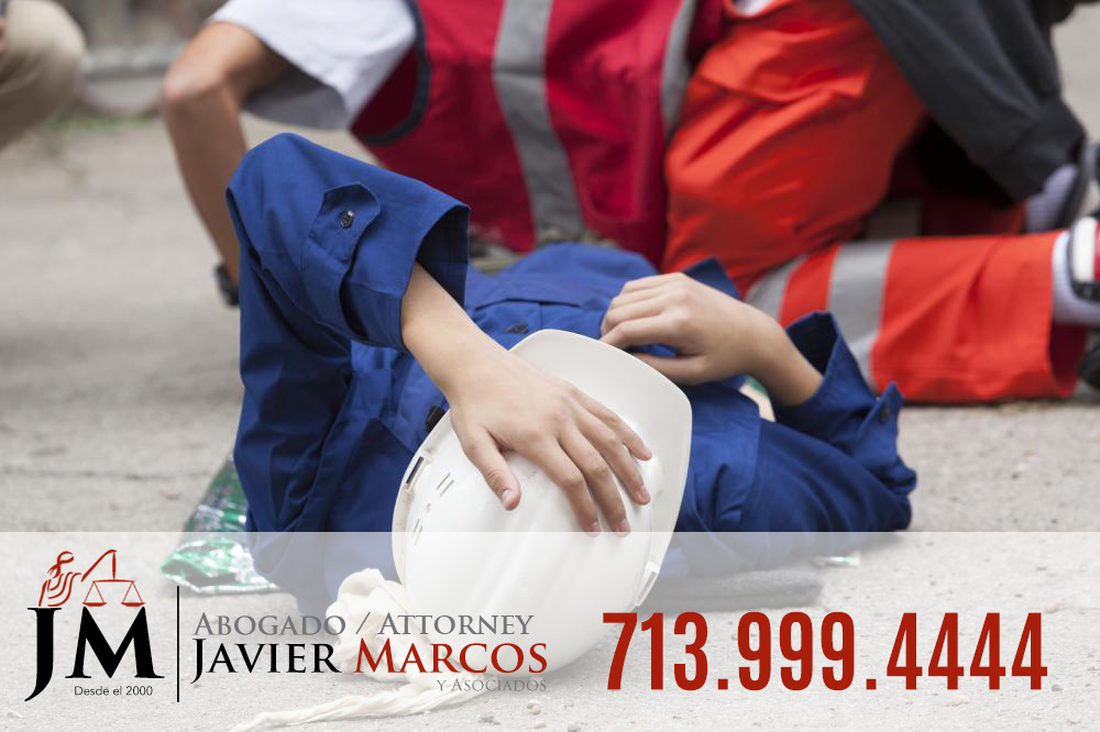 Construction accident   Attorney Javier Marcos 713.999.4444
