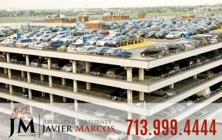 Accident in a parking lot | Attorney Javier Marcos 713.999.4444