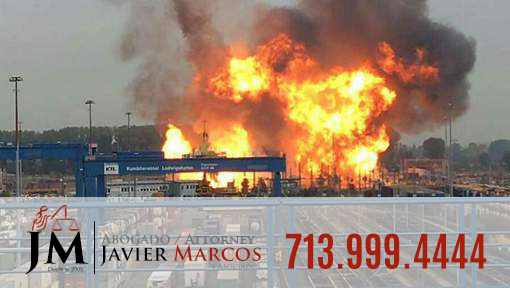 Explosion at work? Call Attorney Javier Marcos 713.999.4444