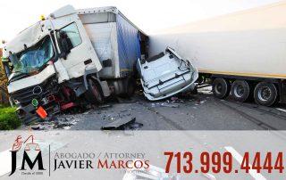 Truck accident | Attorney Javier Marcos | 713.999.4444