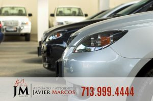 Parked car | Attorney Javier Marcos | 713.999.4444