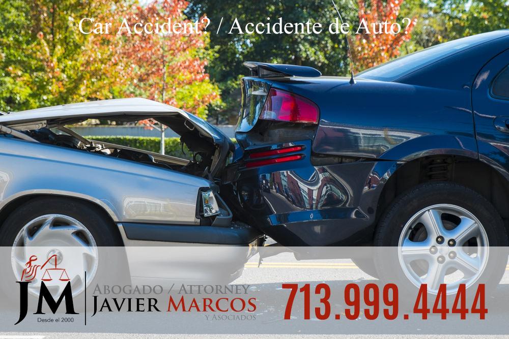 Auto accident attorney | Attorney Javier Marcos 713.999.4444