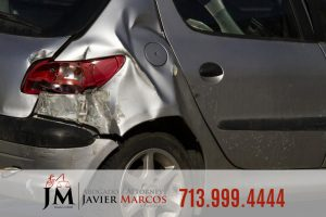 Rear end crash | Attorney Javier Marcos | 713.999.4444