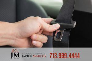 Air bag and seat belt | Attorney Javier Marcos | 713.999.4444