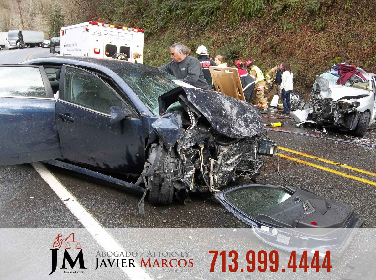 Personal injury case | Attorney Javier Marcos | 713.999.4444