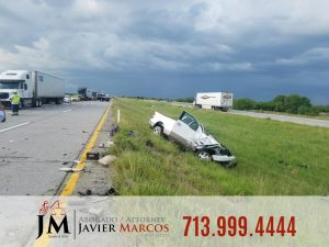 Driver escapes accident | Attorney Javier Marcos | 713.999.4444