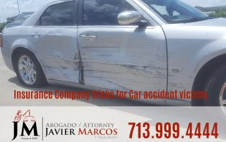 Insurance company tricks | Attorney Javier Marcos | 713.999.4444