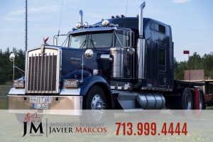 Commercial vehicles | Attorney Javier Marcos | 713.999.4444