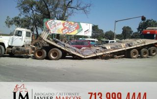 Truck Accident Compensation | Attorney Javier Marcos | 713.999.4444