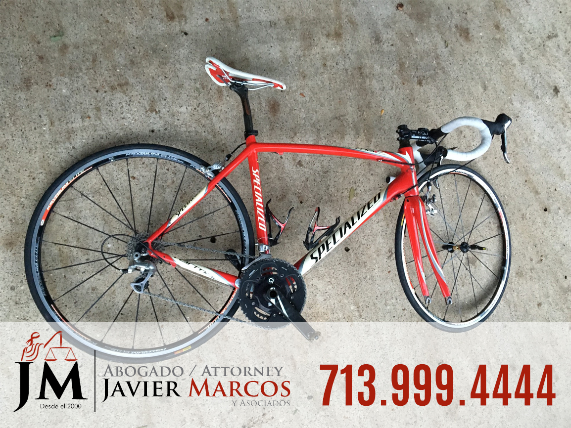 Bicycle accident attorney | Attorney Javier Marcos | 713.999.4444