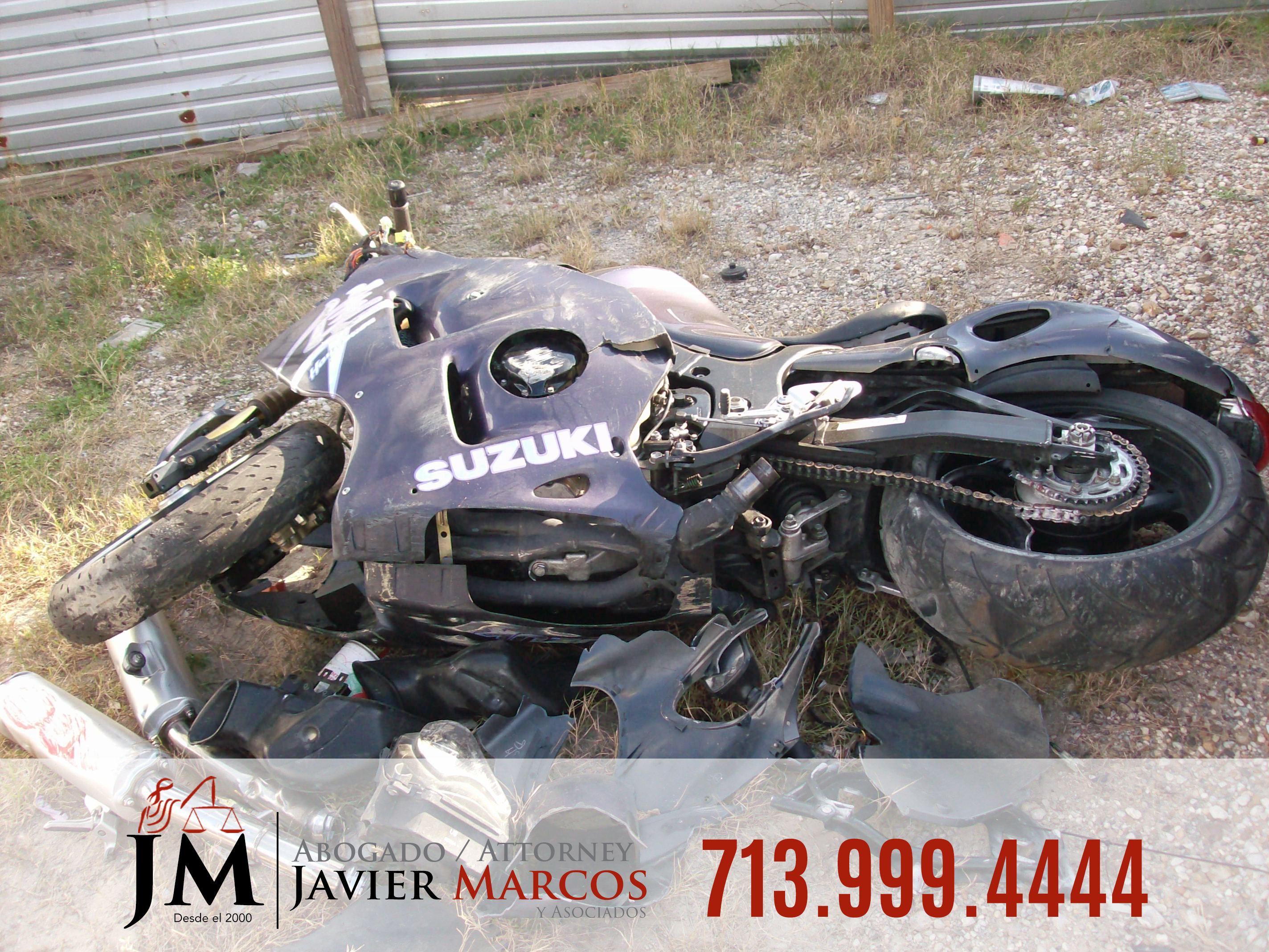 Motorcycle Accident Attorney | Attorney Javier Marcos | 713.999.4444