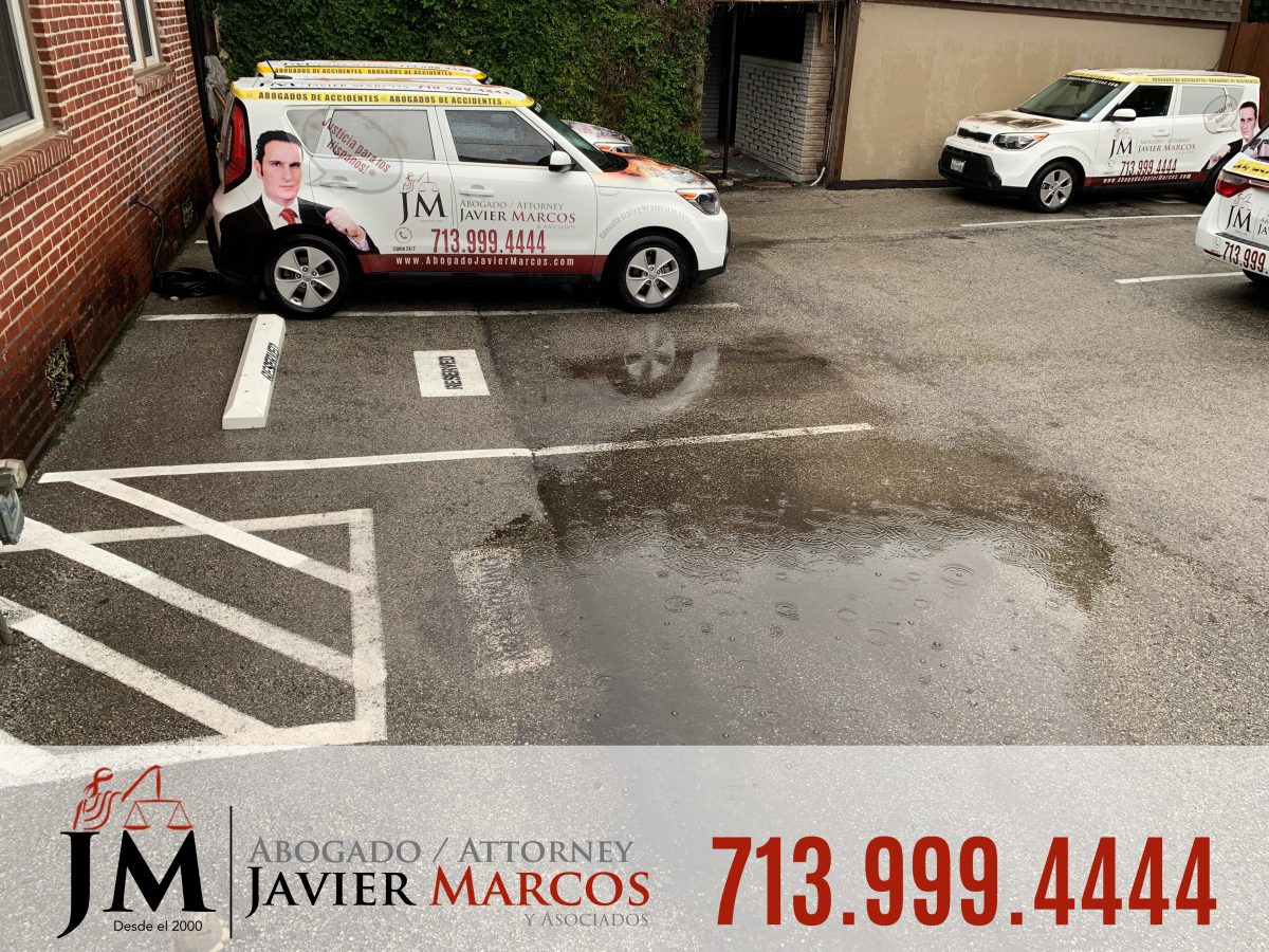 Driving in floodwater | Attorney Javier Marcos | 713.999.4444