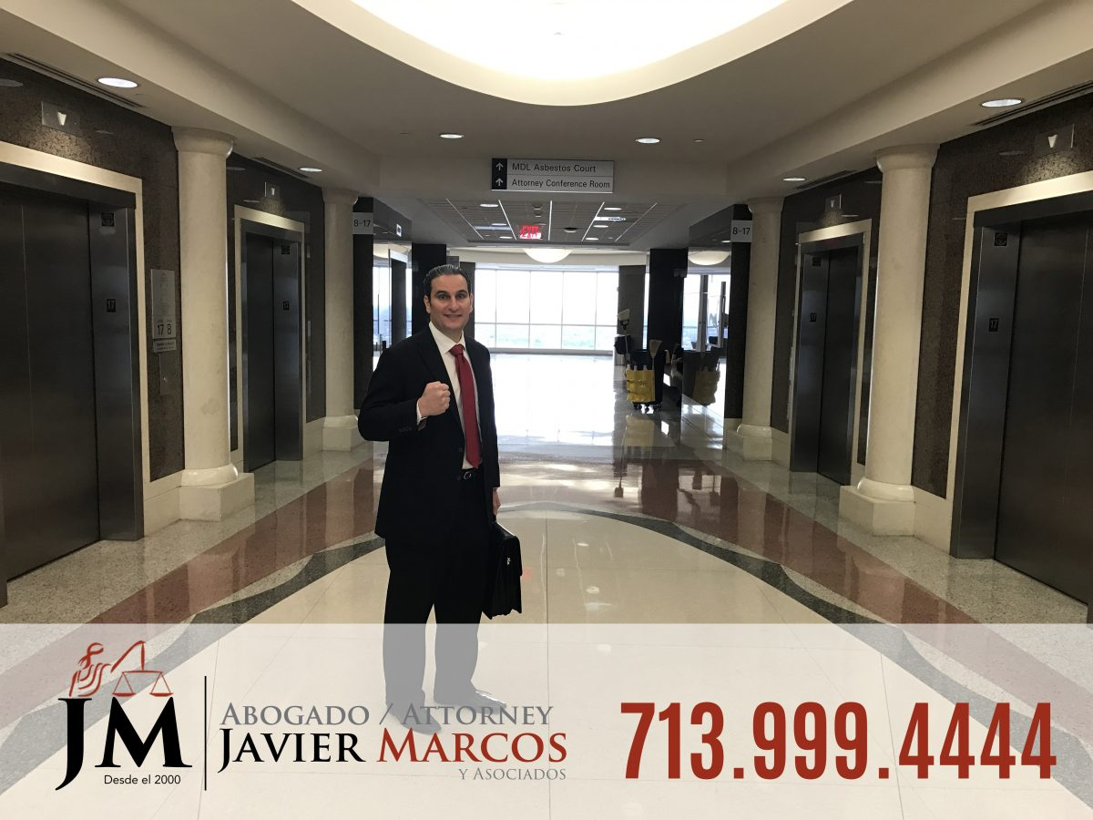 Personal injury claims | Attorney Javier Marcos | 713.999.4444