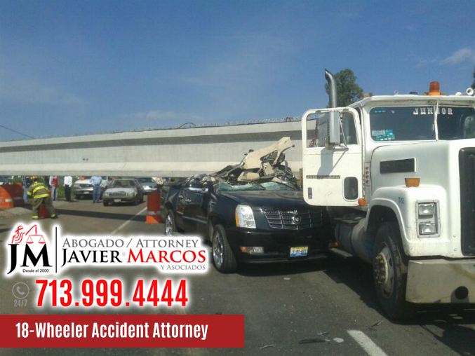 18 wheeler accident attorney | Attorney Javier Marcos | 713.999.4444