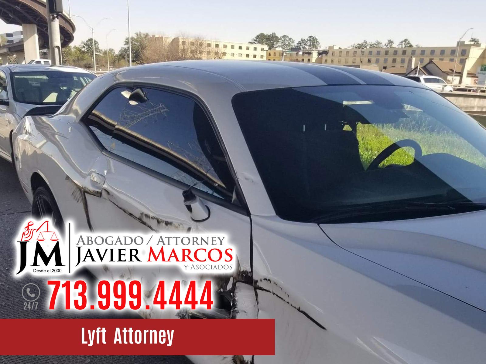 Lyft Accident Attorney | Attorney Javier Marcos | 713.999.4444