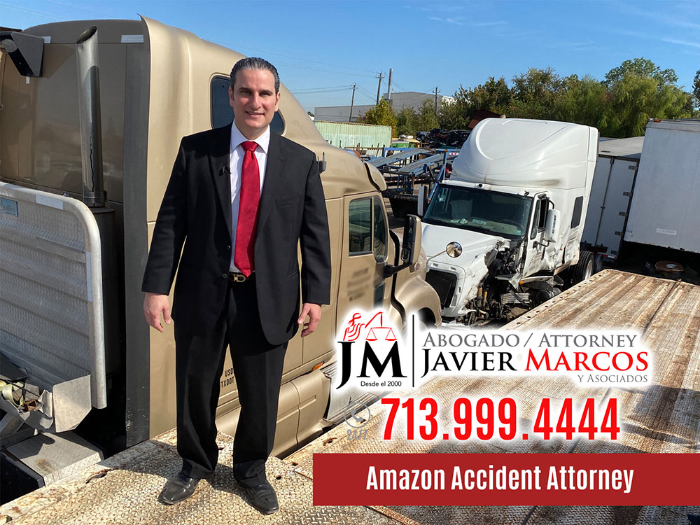 Amazon Accident Attorney | Attorney Javier Marcos | 713.999.4444