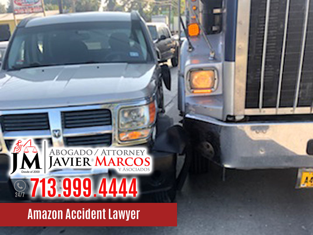 Amazon Accident Lawyer | Attorney Javier Marcos | 713.999.4444