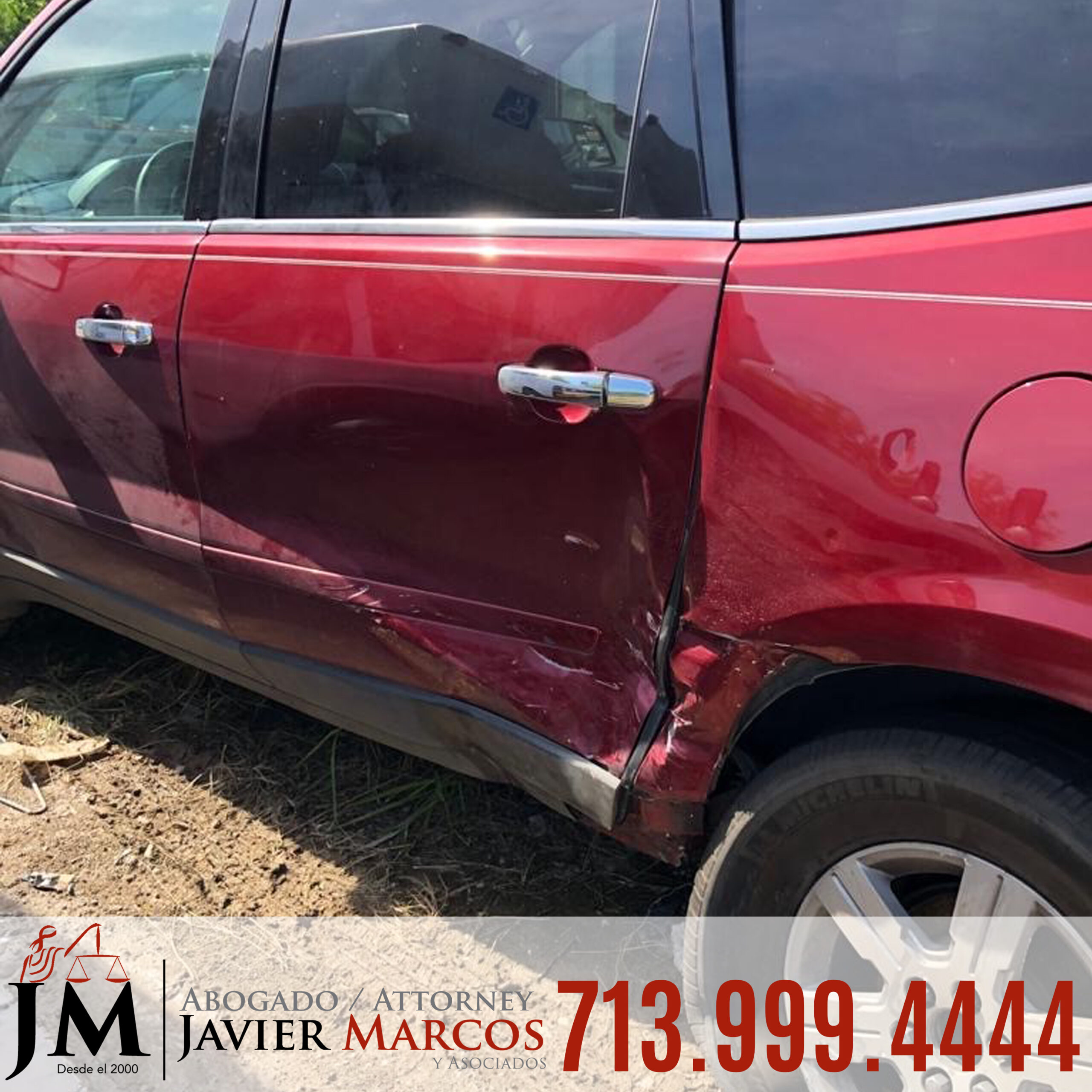 Uber accident lawyer | Attorney Javier Marcos | 713.999.4444