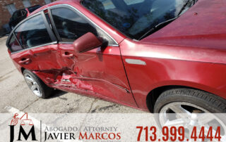 Steps after a car accident | Attorney Javier Marcos | 713.999.4444